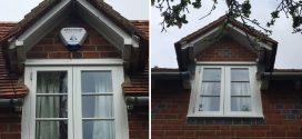 Handmade hardwood casement window in Buckinghamshire