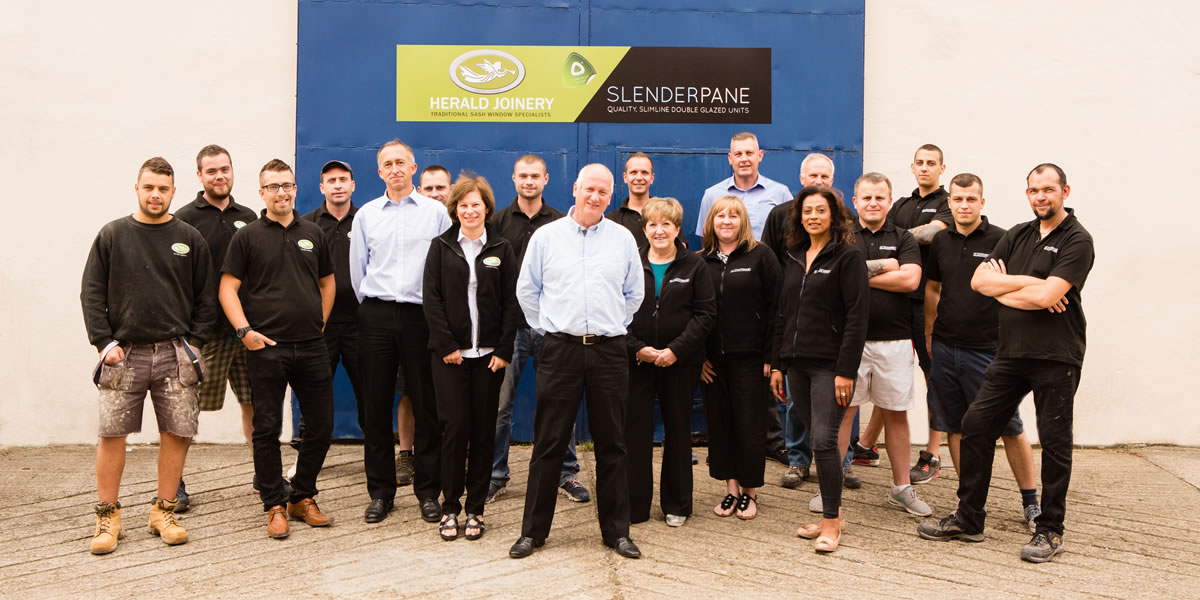 Herald Joinery team